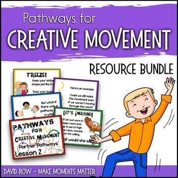 Pathways for Creative Movement - PowerPoints Flash Cards, Resource Kit