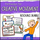 Pathways for Creative Movement - PowerPoints, Flash Cards,