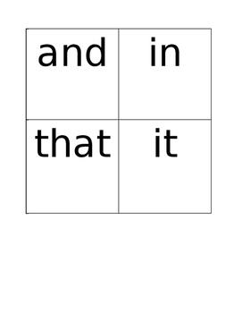 Pathways to Reading Sight Word Flashcards-Kindergarten