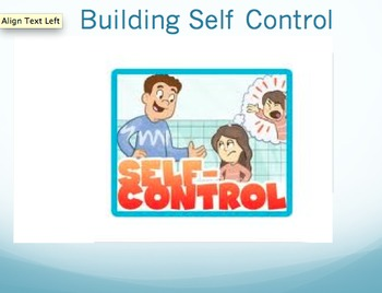 Pathways to Self Control