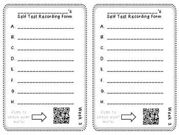 Pathways to Spelling QR Code Spelling Hunts
