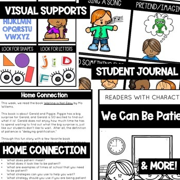 Patience - Character Education | Social Emotional Learning SEL