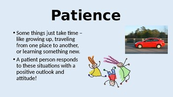 Patience: The Patience of a Butterfly