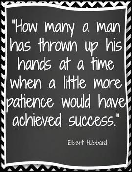 Patiences achieves success