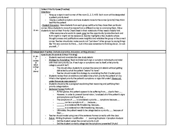 Patient Assessment: Assigning a Priority EMT Lesson Plan & PowerPoint