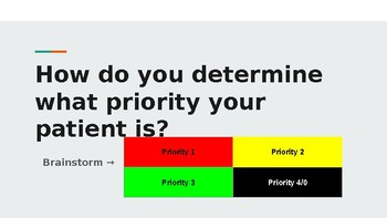 Patient Assessment: Assigning a Priority EMT PowerPoint