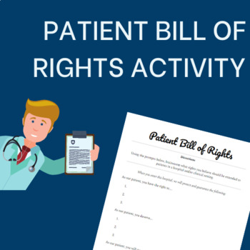 Patient Bill of Rights Activity