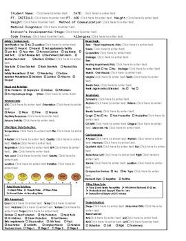 Patient Case Study Form