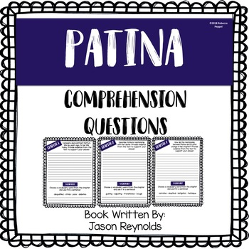 Patina - Comprehension Questions