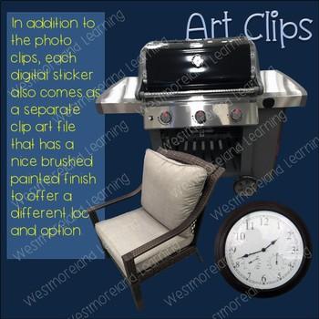 Patio Clip Art Photo & Artistic Digital Stickers Just Patios