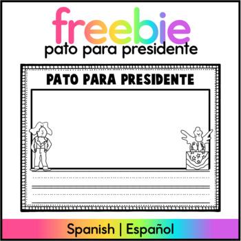 Pato para Presidente FREEBIE