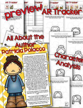 Patricia Polacco Author & Book Study