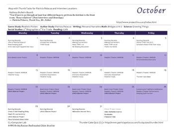 Patricia Polacco Author Study Integrated Activities Calendar