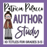 Patricia Polacco Author Study & Story Unit Bundle