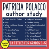 Patricia Polacco Author Study with 13 Titles in DIGITAL FORMAT ONLY