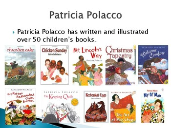 Patricia Polacco Biography PowerPoint