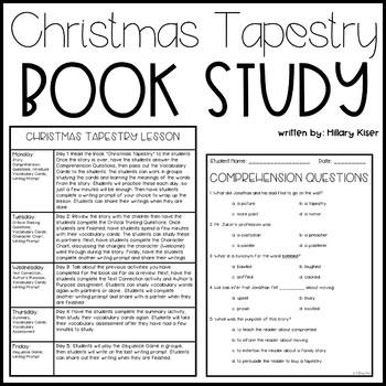 Patricia Polacco-Christmas Tapestry Christmas Unit
