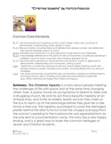 "Patricia Polacco ""Christmas Tapestry"" Text Talk and lesson plan"