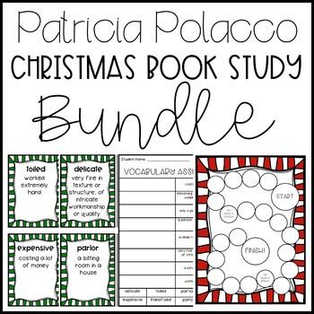 Patricia Polacco Christmas Unit Bundle! (Includes 5 Christmas Book Units)