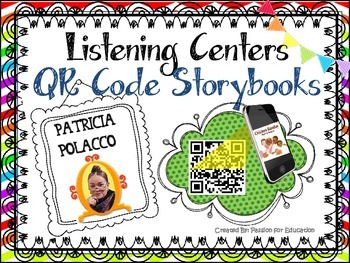 Patricia Polacco Listening Center (18 QR Code Storybooks)