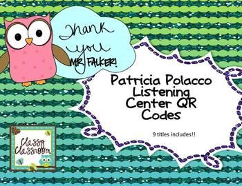 Patricia Polacco  Listening Center QR Codes