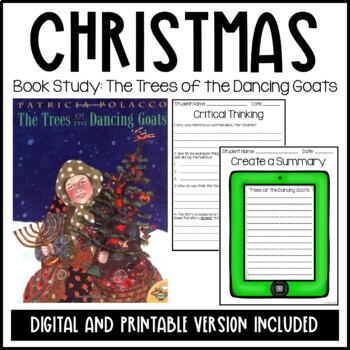 Patricia Polacco-The Trees of the Dancing Goats Christmas Unit