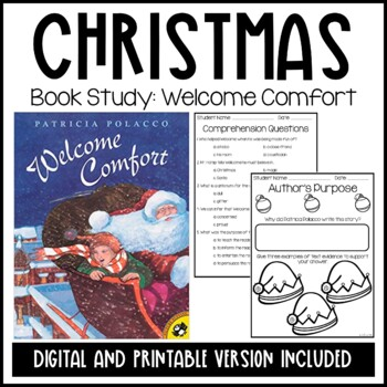 Patricia Polacco-Welcome Comfort Christmas Unit