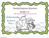 "Patricia Polacco's ""Chicken Sunday"" Reading Response Packet"