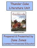 Patricia Polacco's Thundercake Literature Unit