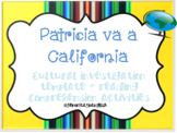 Patricia va a California Comprehension Packet