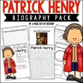 Patrick Henry Biography Pack (Revolutionary Americans)