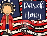 Patrick Henry Differentiated Close Reading Passages & Questions