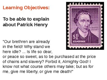 Patrick Henry Informative Guide