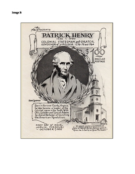 Patrick Henry - Patriot and Politician