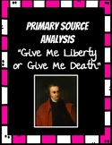 Patrick Henry Speech Primary Source Analysis - Differentia