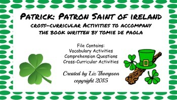 Patrick Patron Saint of Ireland Mini Unit
