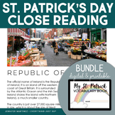St. Patrick's Day | St. Patrick's Day Reading Writing and Activities