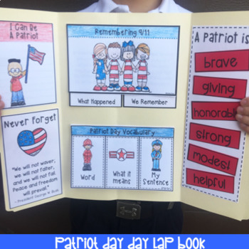 September 11 Lap Book For Patriot Day