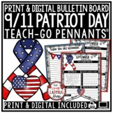 September 11th Activities: Patriot Day, September 11 Writing Teach- Go Pennants™