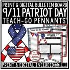 Patriot Day Activity- September 11 Writing 9/11 Heroes • Teach- Go Pennants™