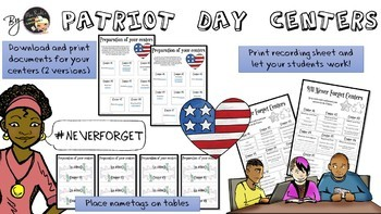 Patriot Day - Centers