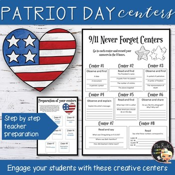 September 11th 9-11 Activities Patriot Day Centers