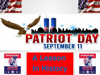 patriot day powerpoint and activity 9 11 by aurelius tpt