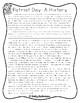 Patriot Day Reading Comprehension Passage