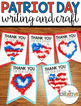 Patriot Day Writing And Craft By The Creative Classroom
