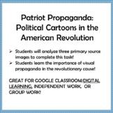Patriot Propaganda: Political Cartoons in the American Revolution