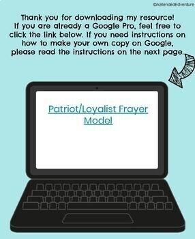 Patriot and Loyalist Digital Frayer Model