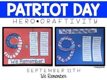 Patriot's Day - September 11th Craftivity