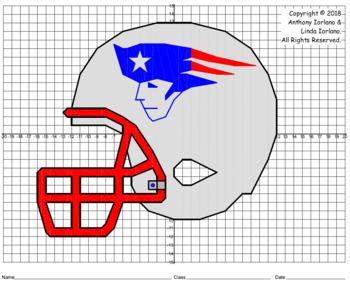 Patriot's Helmet Mystery Picture (4 Quadrants)