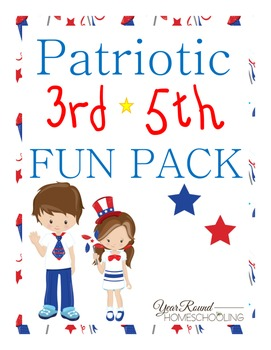 Patriotic 3rd-5th Fun Pack